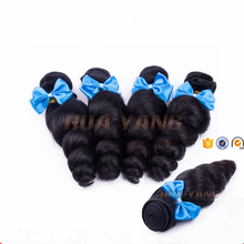 NEW Product Top Quality Double Drawn Loose Wave Brazilian hair 100% Remy Virgin Hair Bundles Human Hair Extension Can Be Colored