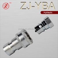 ZJ-YBA ISO B series close type hydraulic quick coupler