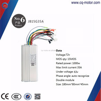 24v 36v 48v 60v 64v 72v electric bicycle /scooter brushless dc motor controller