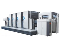 PRY-41040 Fully automatic china 4 colors offset printing press for sale