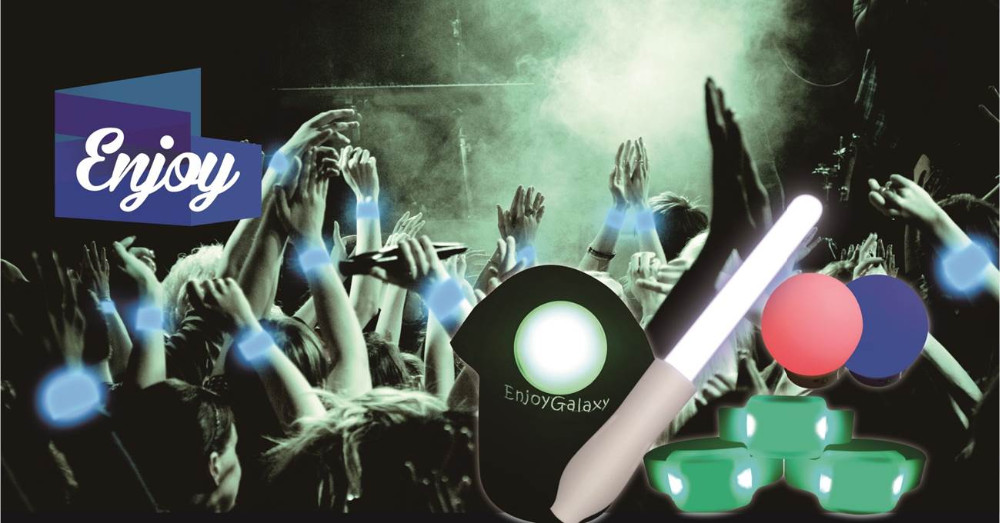 Concert and party decoration RF controlled LED Stick