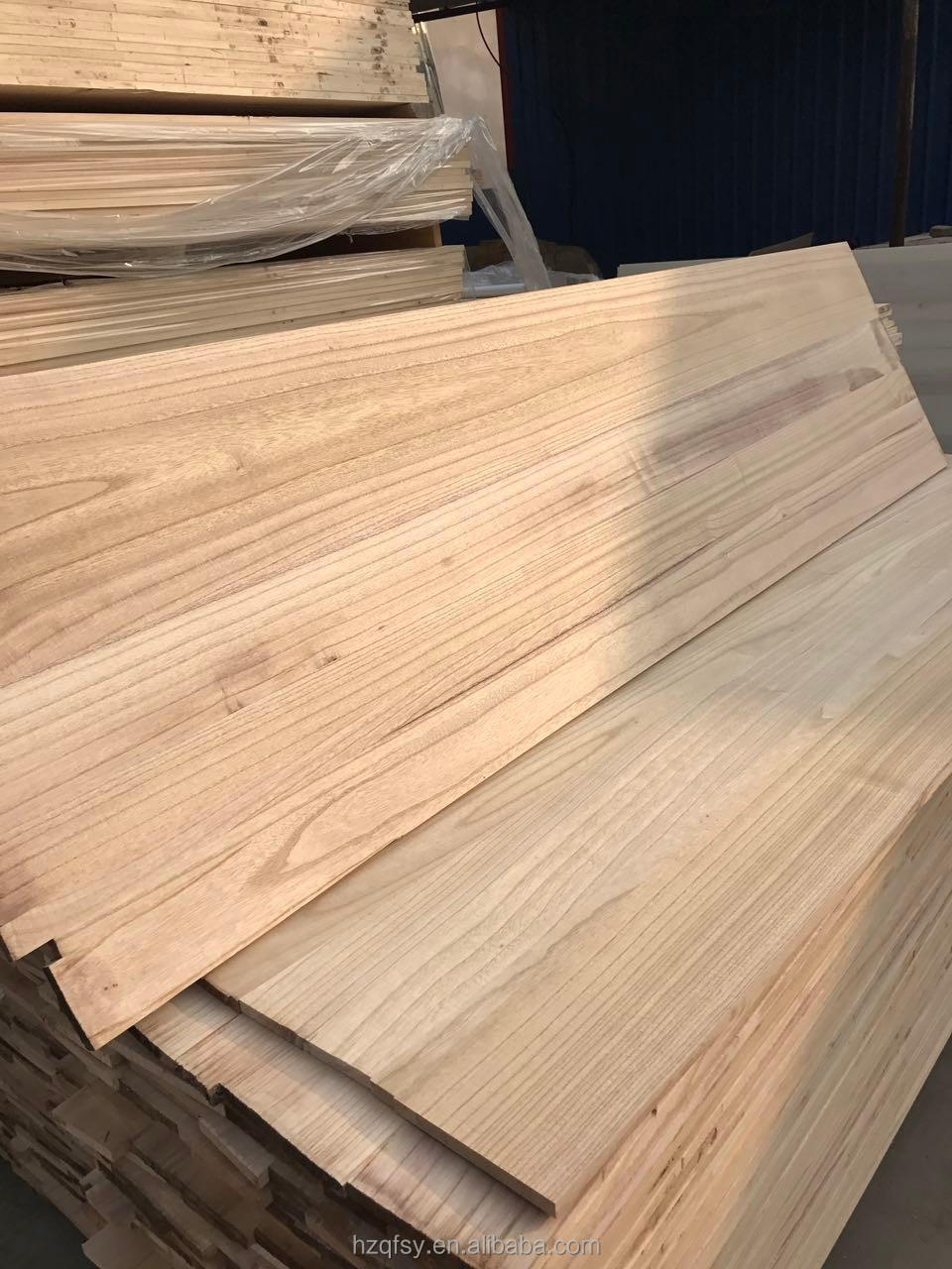 Paulownia Laminated Board Finger Jointed Board