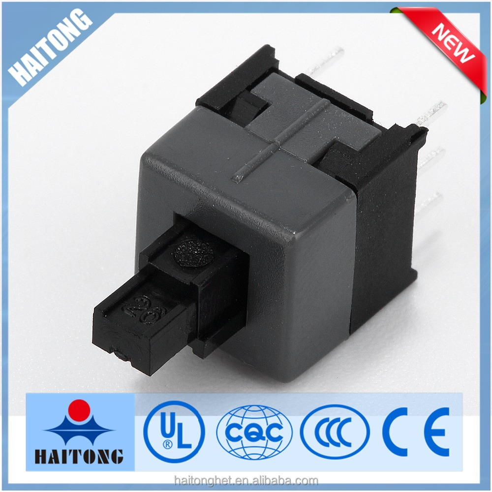 China factory high quality 8.5x8.5 push button tact switch with lock