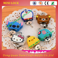 Dairy Book MINI Travel Lock for Trolley Bag