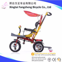 Factory Ride on car metal child tricycle , foldable baby tricycle toy , simple kids trike for 2 years old
