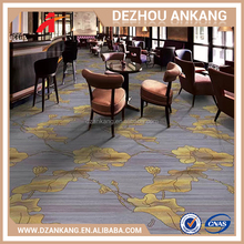 2017 Newest luxury hotel ballroom carpet luxury printed carpet for lounge floral design wall to wall carpet