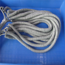 RJ45 8P8C cat5e molded 24AWG network spiral cable grey color