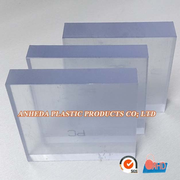 Factory price transparent PC sheet PC rod solid polycarbonate roof sheet