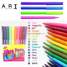 Promotion kids drawing water based felt tip pens