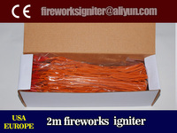 2m fireworks igniter,liuyang fireworks electric match, CE passed, try package igniter,100pcs/box, wholesale