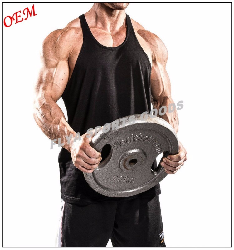 2018 Breathable Vest Sleeveless Custom Mens Gym Tank Top
