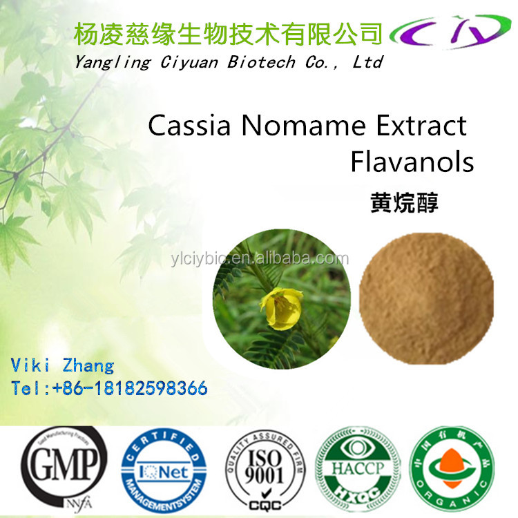 High Quality Flavanol 8%-16%/Nomame Semaherb Extract/Cassia Nomame Extract