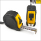 steel metal auto-lock retractile digital industry market power measuring tools