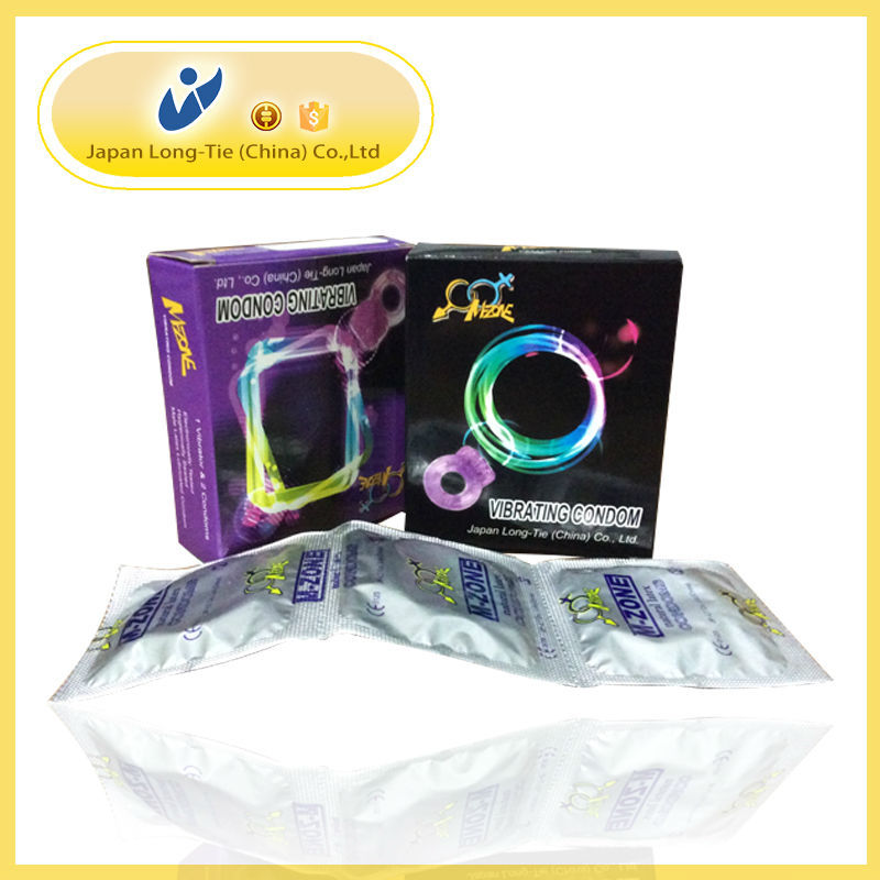 Sex Toy Condom Vibrator For Men With New Design Models And Various Colors