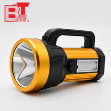 Bolaite Wholesale Handheld Plastic ABS Rechargeable LED Portable Searchlight