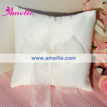 A06R31 Cheapest Wedding Lace Ring Pillow