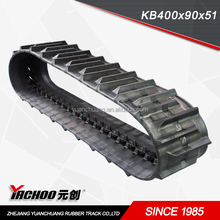 Agriculture machinery rubber track/ Harvester rubber tracks KB450X90x51 KB500x90x53 KB400x90x47