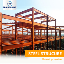 Premium Quality Hanger Bolted Galvanized Residential Red Steel Roof Structure Construction