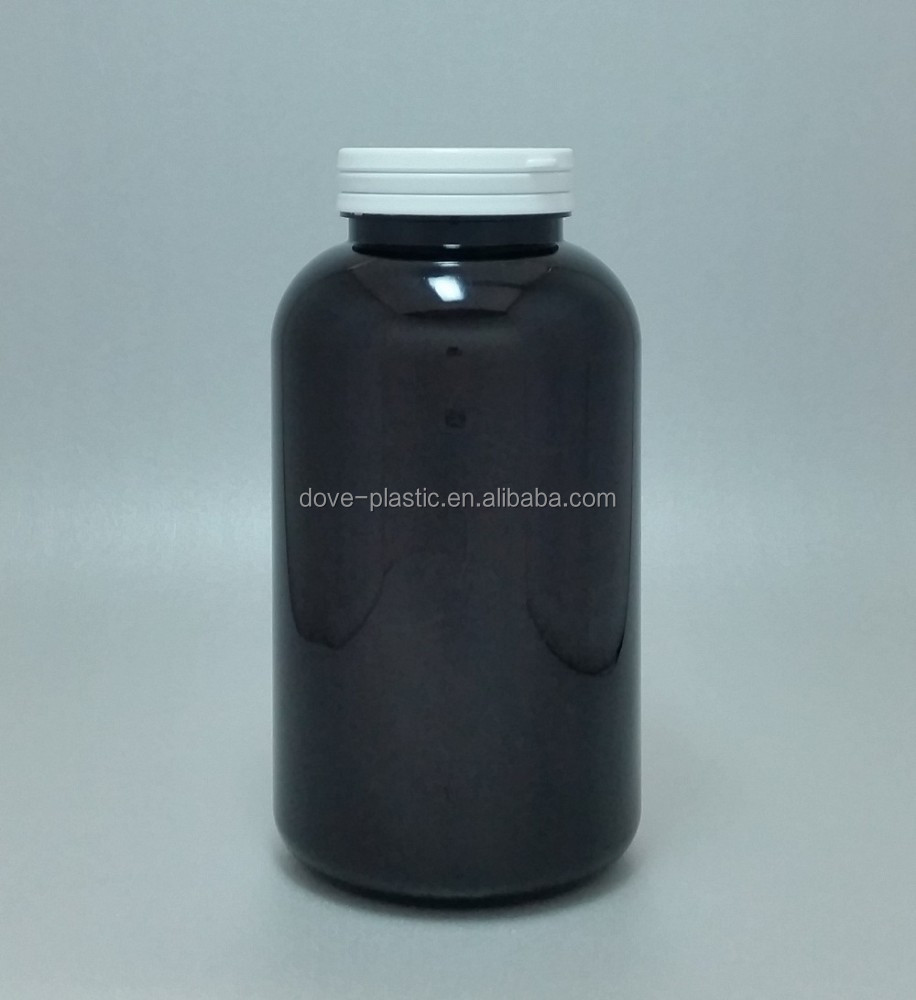 750ml PET plastic bottle,flip top pill bottle,big plastic container