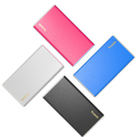 PU leather universal portable 3000mah Li-Polymer External Battery Power Bank for iPhone and samsung