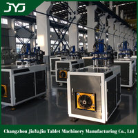 Service Abroad Dishwasher Tablet Making Machine With Best Price