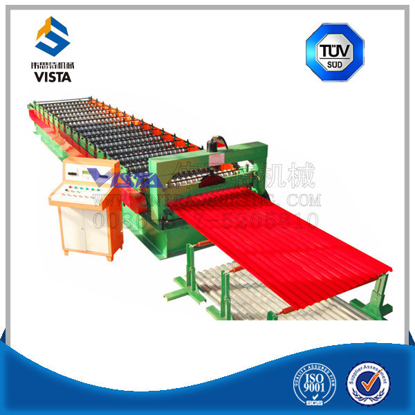 Building Material Double Deck Corrugated And Ibr Roll Forming Machine With Low Prices