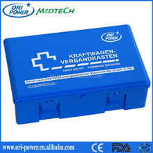 Wholesale Din13164 Germany CE FDA approved oem promotional auto plastic first aid case