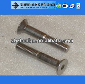 Hex Socket Countersunk Head Screw DIN7991, Manufactured in China, M3-M24