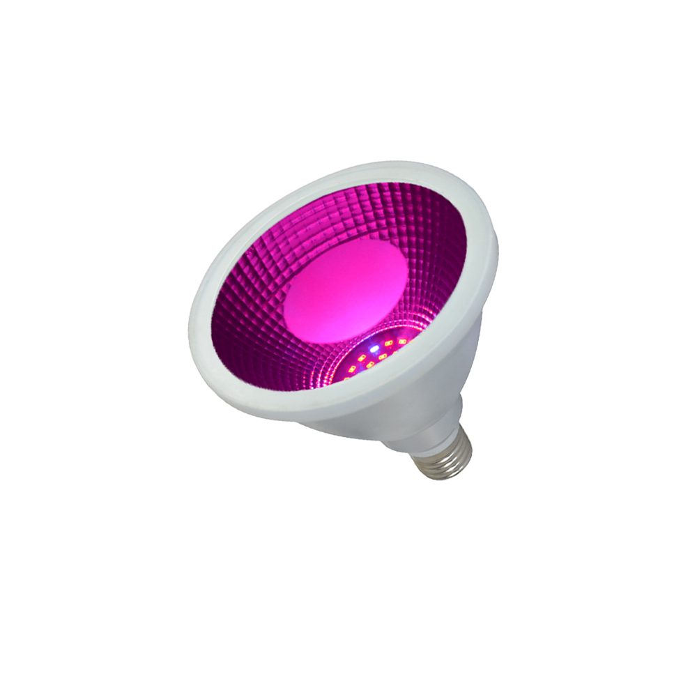 390nm-730nm UV Red Blue IR Chips Par38 15W 60lm/w Full Spectrum COB SMD <strong>Led</strong> Bulb Grow <strong>Light</strong> for Pitaya Lettuce