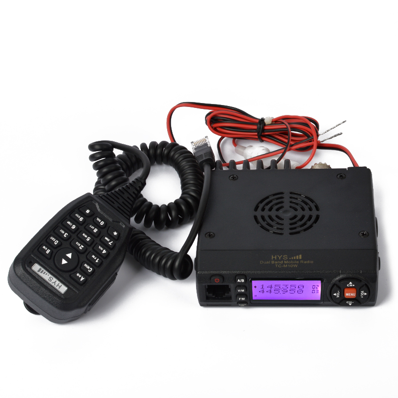 Mini VHF UHF 136-174MHz/400-490MHz FM Transceiver with Scrambler