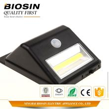 Various models factory supply solar porch lights with motion sensor