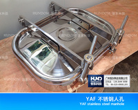 Stainless steel manhole cover YAF