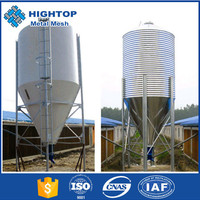 Hot sale chicken farms feed silos for chicken farm