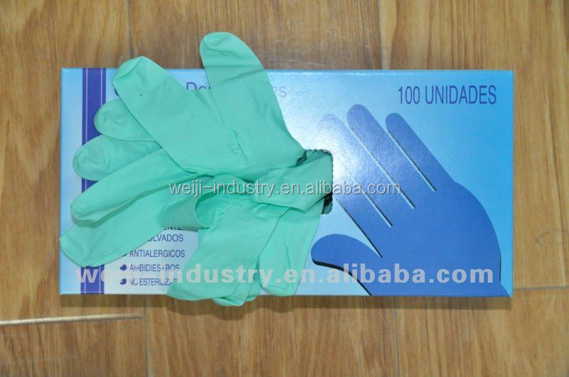 Nitrile Exam Gloves / Dental nitrile gloves AQL 1.5 for cleanhouse workshop hospital use Examination,Laboratory