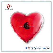 Warmth heart shaped hand warmer promotion gift heating pad