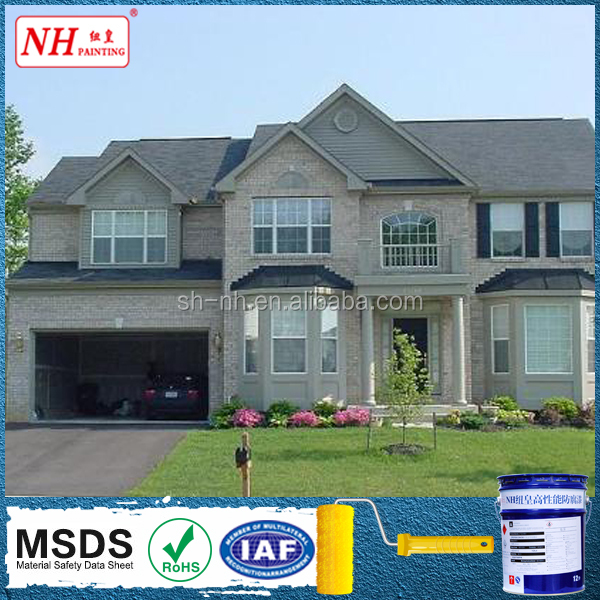 Granite texture paint for exterior wall design/exterior house paint color