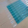 Corrugated PC sheet Corrugated Roofing Polycarbonate Sheet