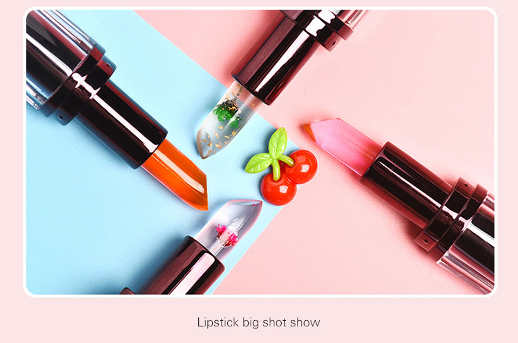 Private Lebel Magic Change Color Jelly Flower Lipstick