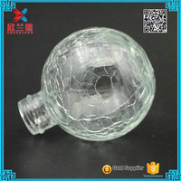 2016 new product ball shape crystal decorative attar perfume bottles 40ml