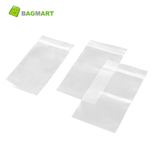 Bagmart 100% Virgin Material Transparent Plastic Storage Zipper Packing Bag With Different Sizes for Garment