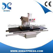 Large Format Double Stations Pneumatic high quality t-shirt printing machine heat transfer printer steam press