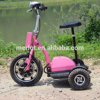 New design three wheeler standing up cargo from dubai to india with big front tire