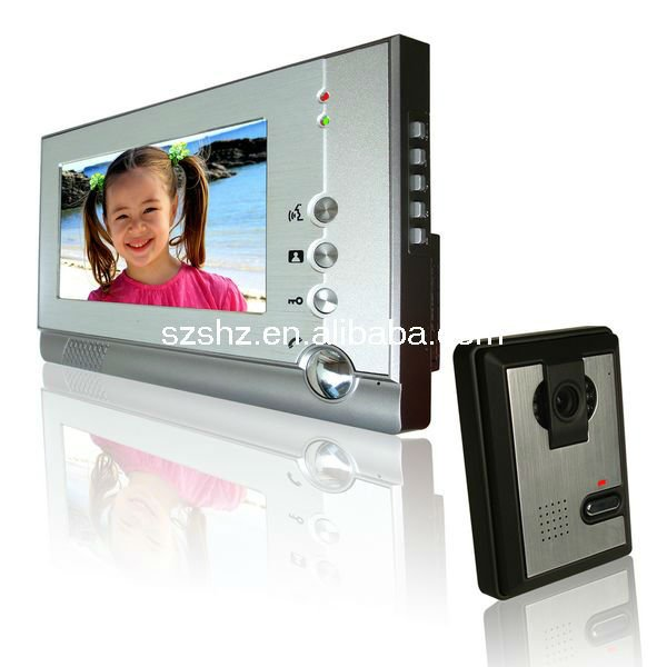 China manufacturer home security system new product 4 wires video door phone