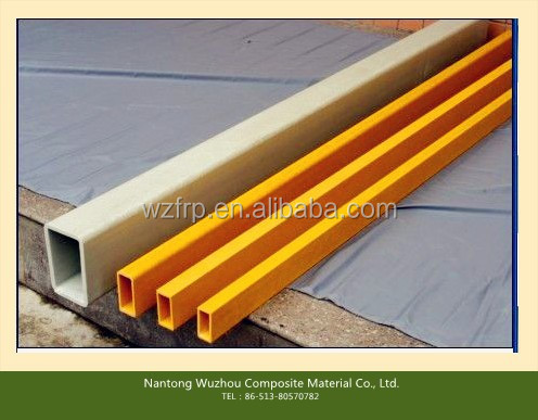 Corrosion resistance and excellent insulating FRP fiberglass rectangular tube