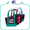 cheap cotton canvas tote or beach bags with custom printed logo