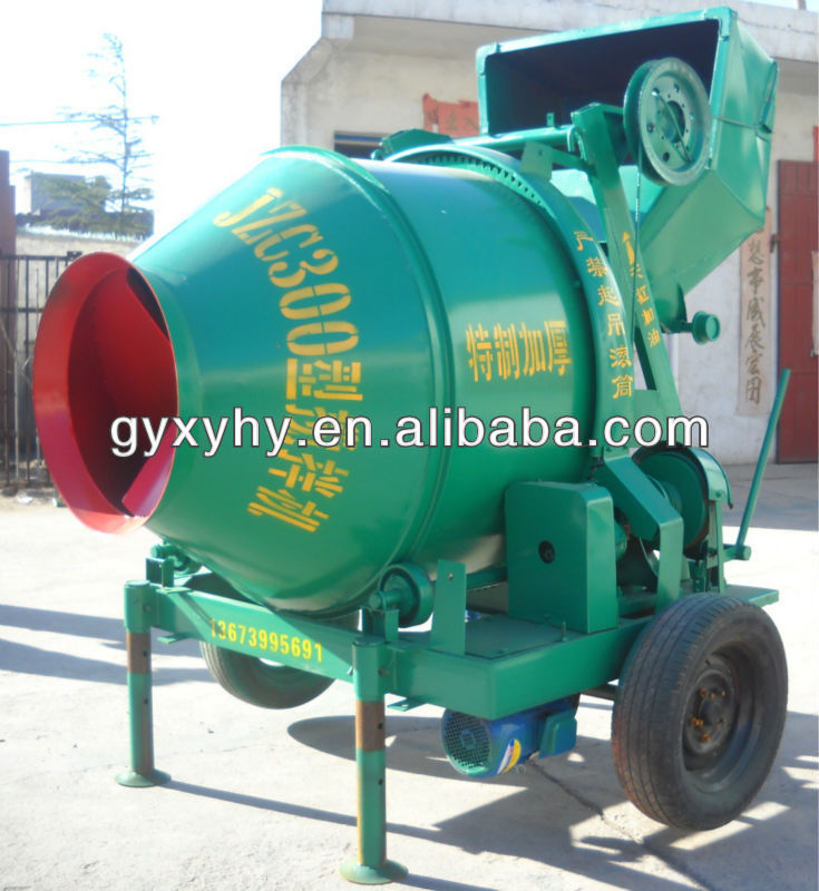 2014 Hongying JZC300 pictures of concrete mixer