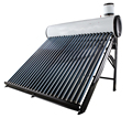 Compact non pressurized cheap solar water heaters in China