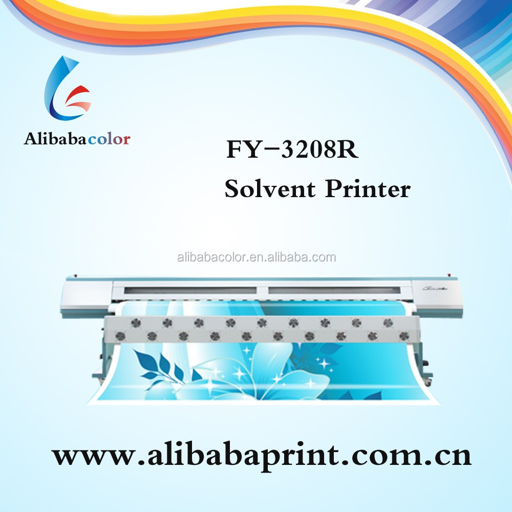 10 feet solvent infinity challenger fy 3208g pana flex printing machine With SPT510 Head