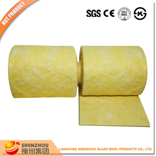 thermal resistance fiber glass wool duct wrap