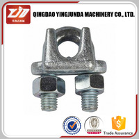 Heavy Duty High Tension US Type Drop Forged Steel Wire Rope Clamps